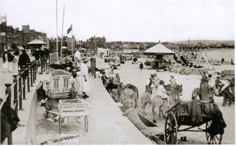 weymouth donkeys 1920