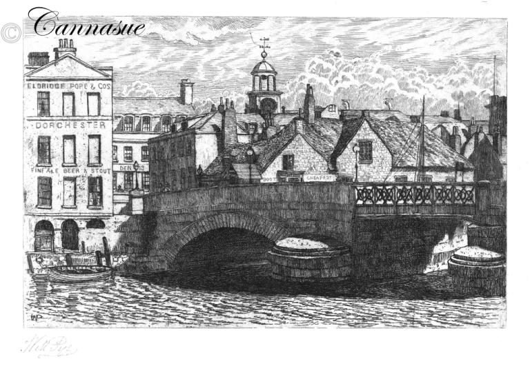 William Pye Weymouth town bridge