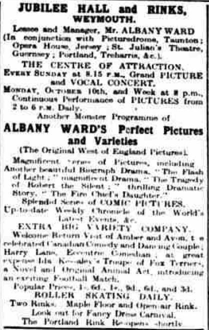 October 1910 Albany Ward Jubilee Hall
