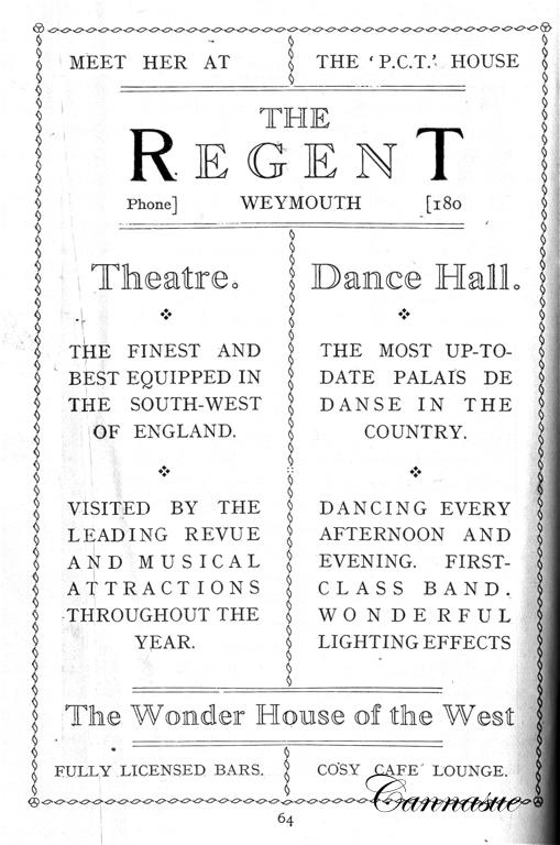 The Regent 1927