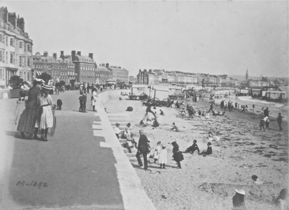 weymouth beach 1892