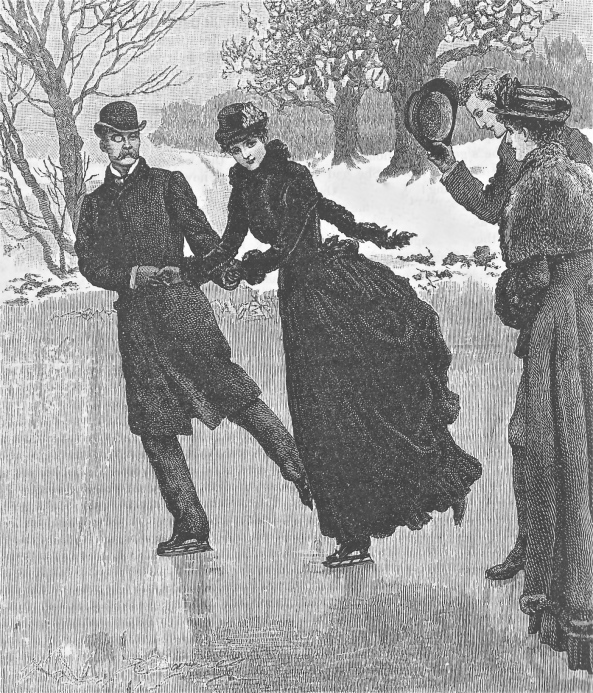 couple ice skating q 1887