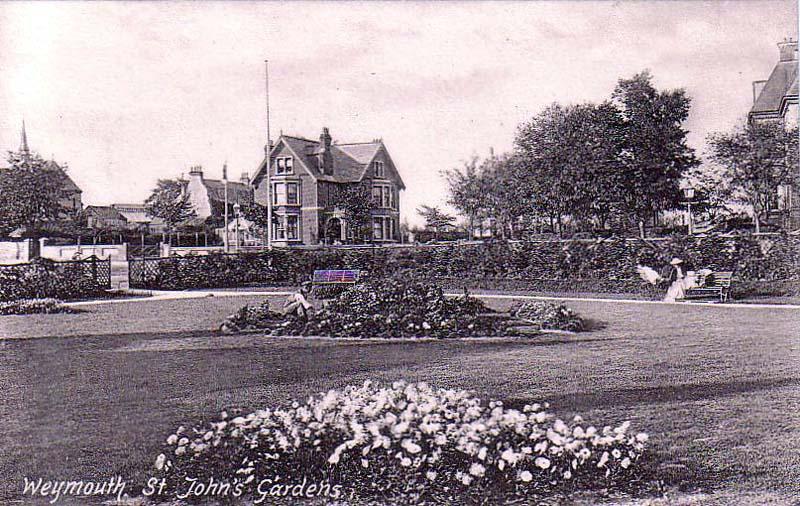 Dorset, Weymouth, St John's Gardens