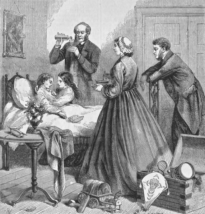 family girl sickbed quiver 1865