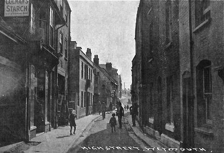 High Street Weymouth.