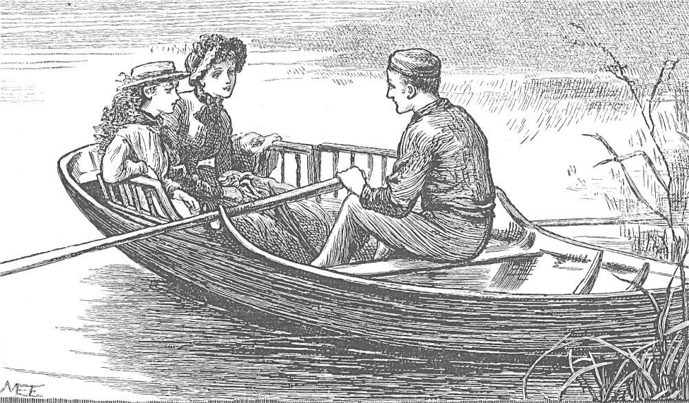 boy girl child boat 1887