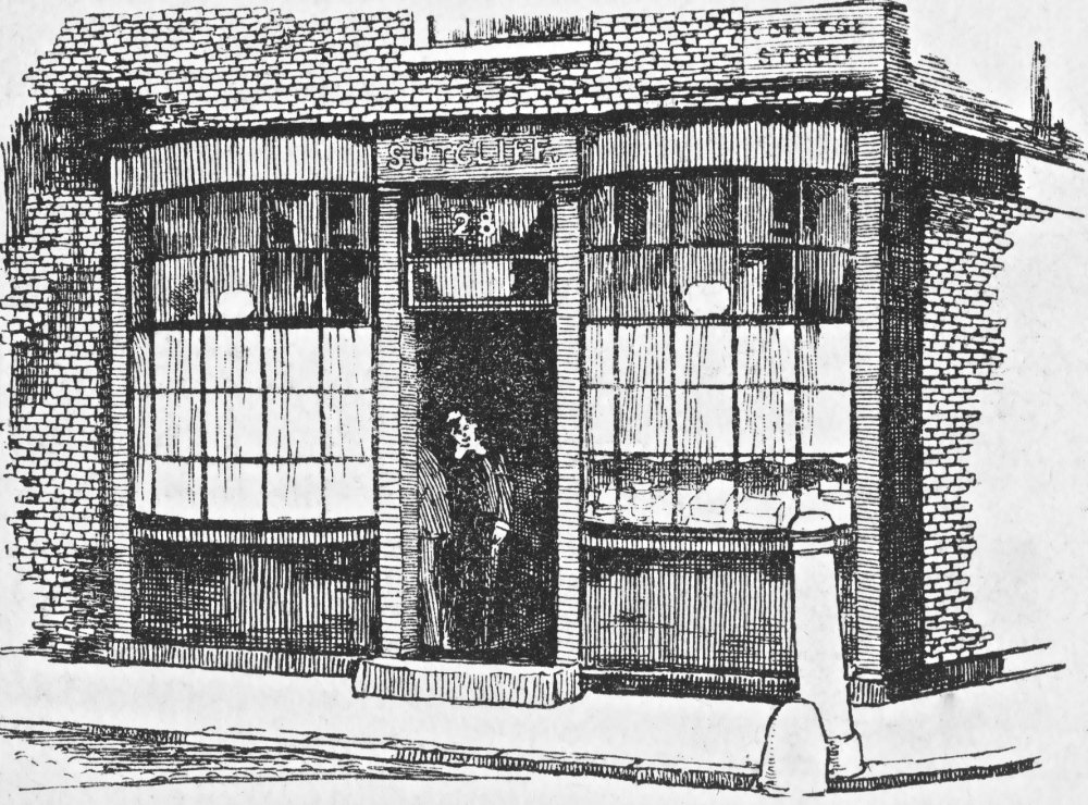 LONDON MAGAZINE 11 OLD SHOP FRONT1904 1