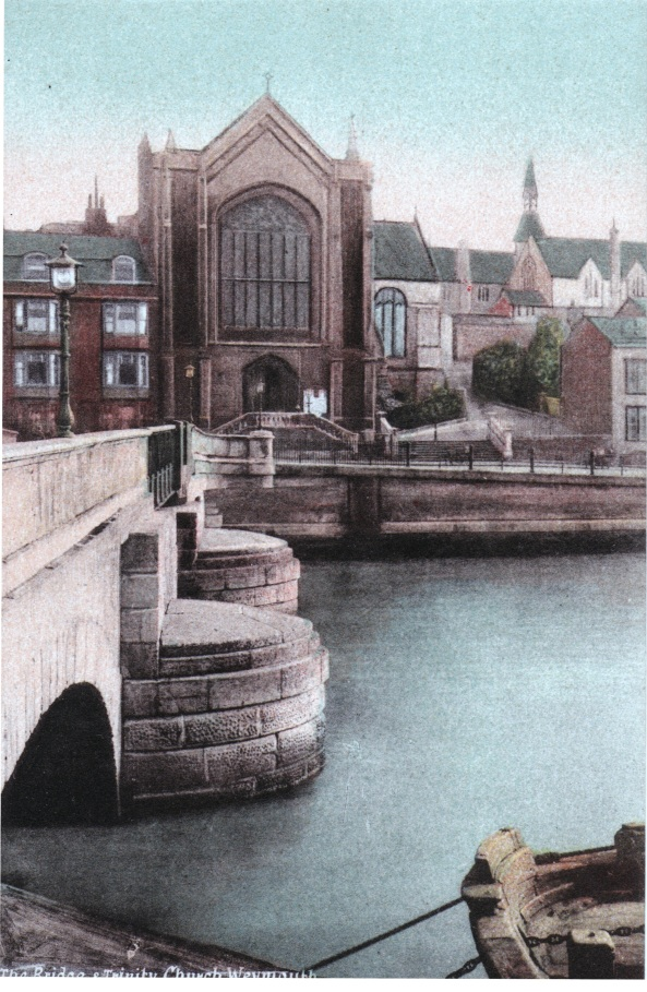 holy trinity and old town bridge