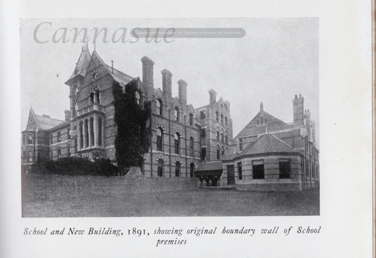 Weymouth Grammar School 1891