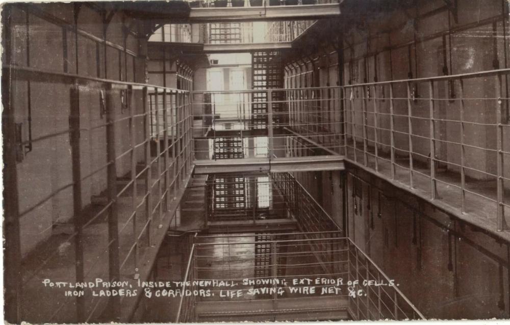 Interior original Portland prison