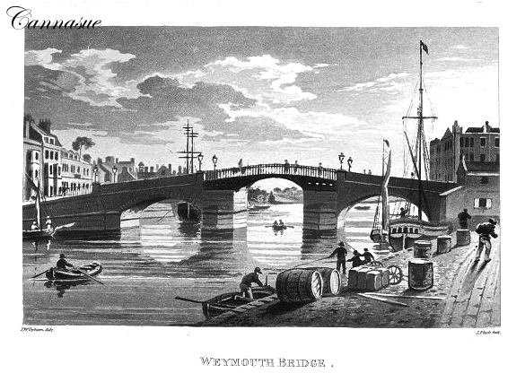 old Weymouth town bridge
