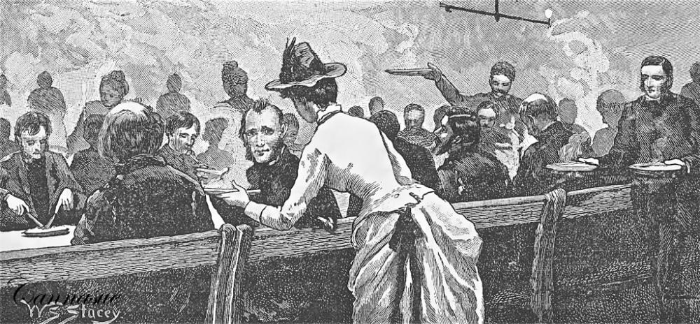 woman men supper 1887