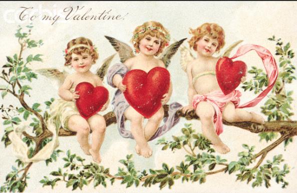 Victorian Valentines cards