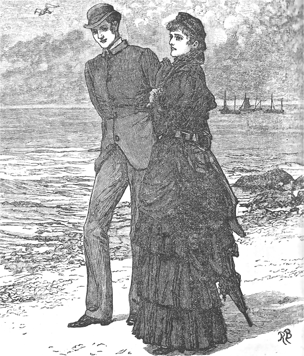 woman-man-walking-beach
