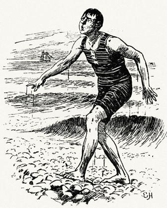 man-bathers